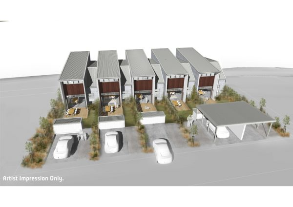 Townhouses Lot 1 to 5